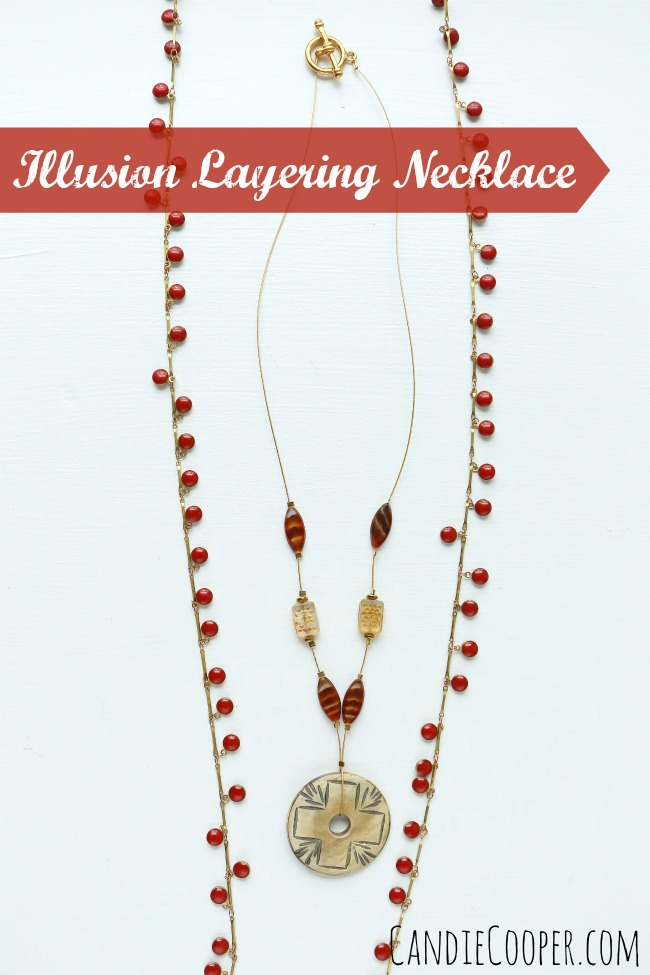 Illusion Layering Necklace with Beadalon Wire
