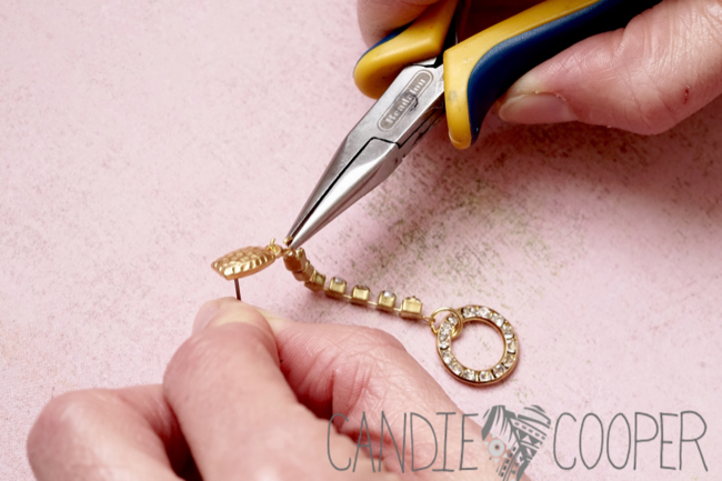 DIY Jewelry how to make these crystal earrings from Candie Cooper11