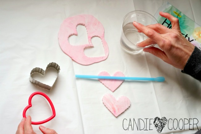Color Me Happy Heart Pendants With Air Dry Clay Candie Cooper