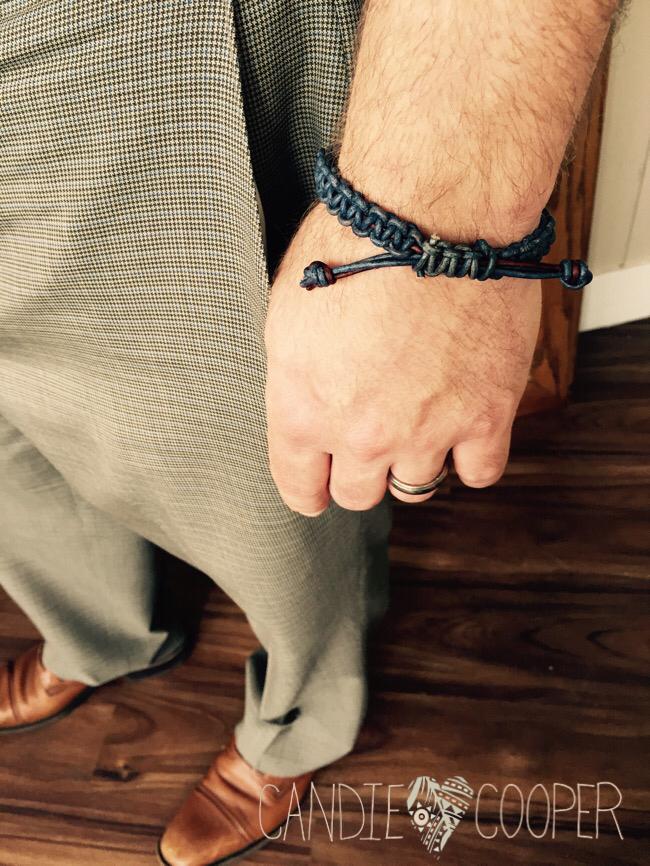 DIY Men's leather Jewelry Ideas