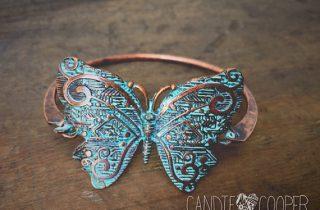 Blank Butterfly Cuff