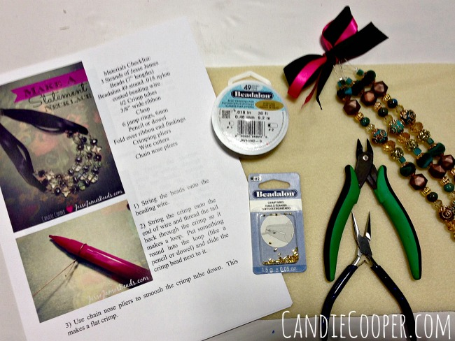 Beading classes with Jesse James