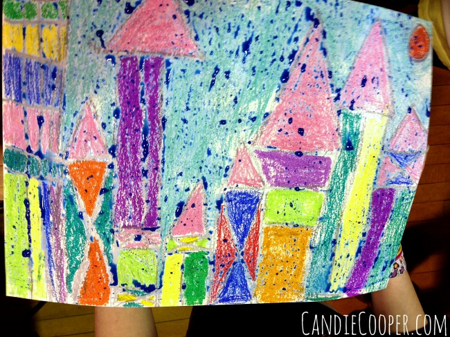 Paul Klee Kids ARt Project Example