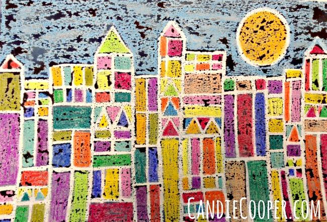 Kids Watercolor Art Project Idea Candie Cooper