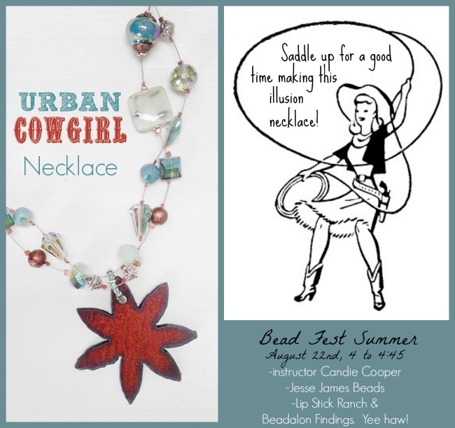 Urban Cowgirl Necklace with Candie Cooper