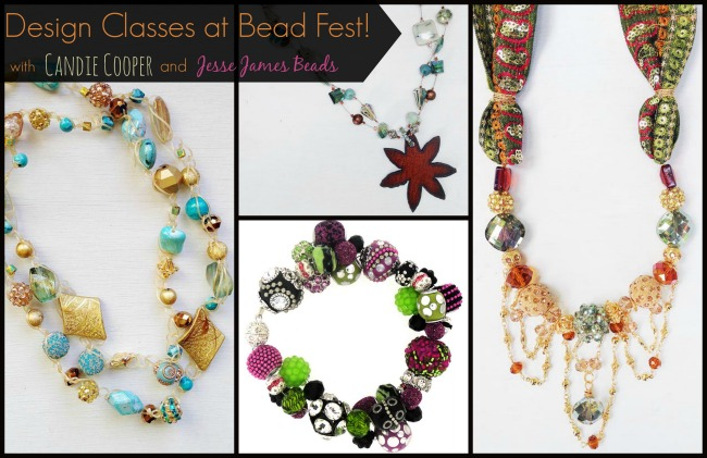 bead fest classes with Candie Cooper and Jesse James Beads