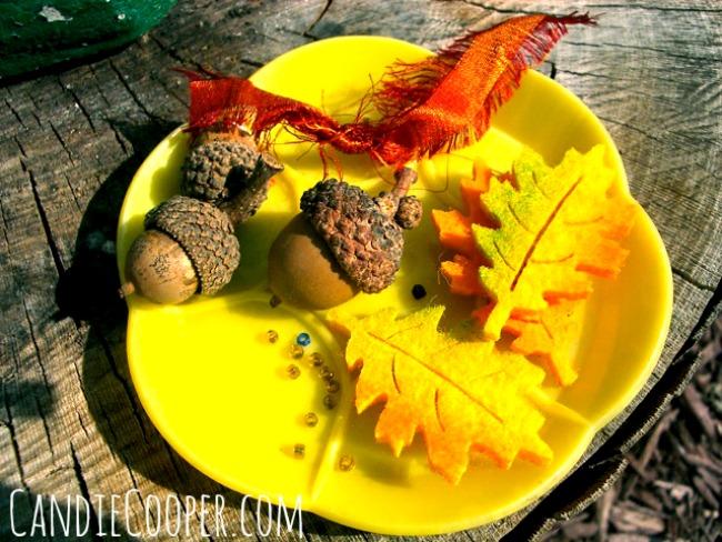 Make an acorn fairy doll