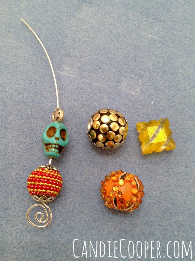 Easy Jewelry Making for Halloween!