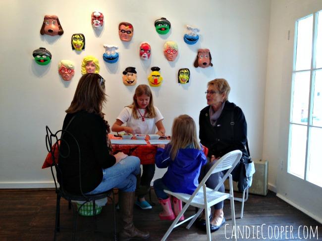 Halloween Jewelry Making with Kids