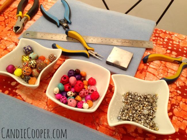 Jewelry making station