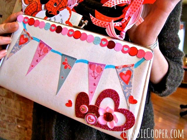 Valentine's Purse Mailbox