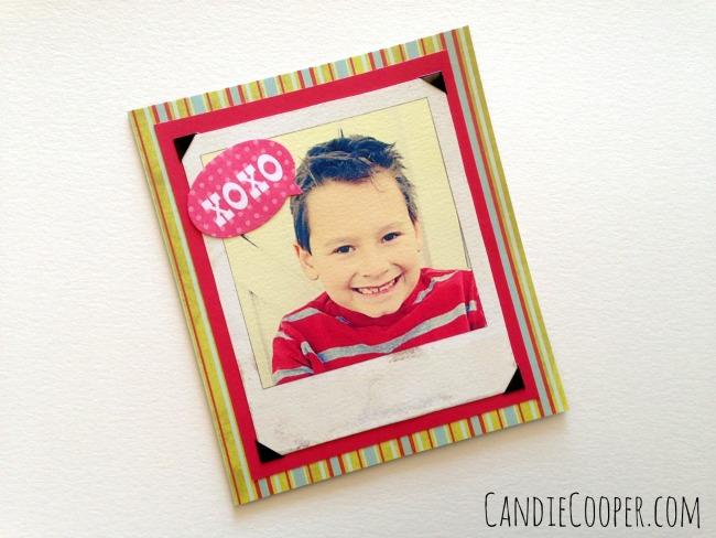 DIY Valentine idea with Canson paper