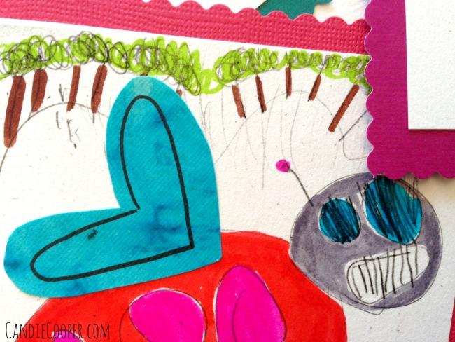 Hand drawn valentines