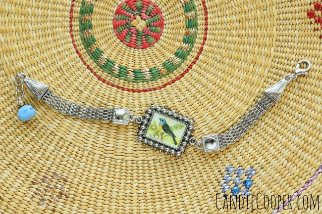 Bird Bracelet component from Bracelet Boutique and @jessejamesbeads