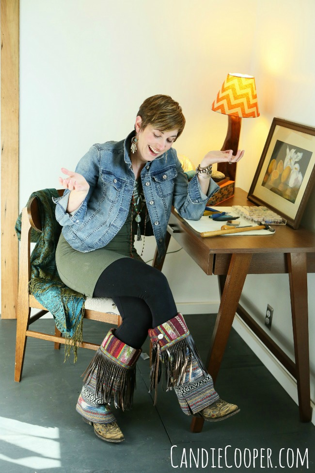 Candie Cooper, jewelry artist and author