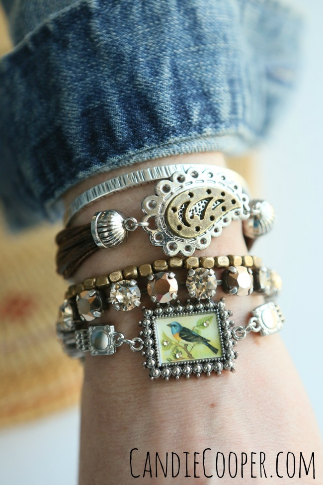 DIY Layering Bracelets using Bracelet Boutique at Joann Fabrics