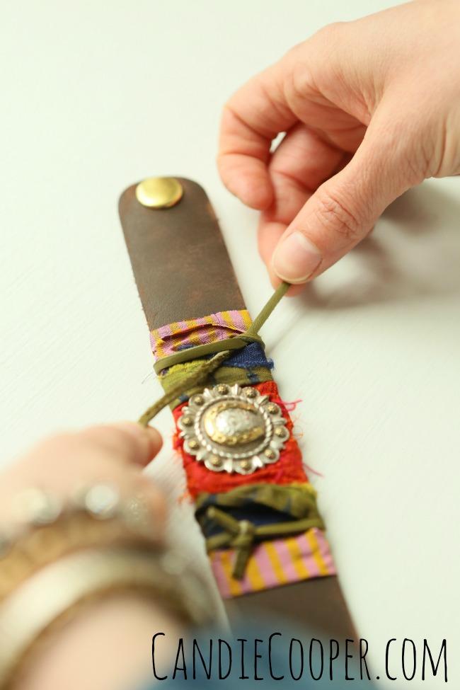 DIY Leather Jewelry