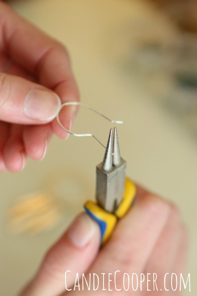 How to make ear wires with 20g. wire