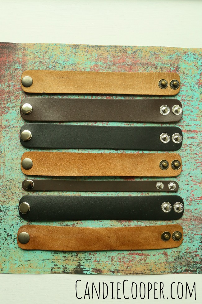 Leather Cuffs from LeatherCord USA
