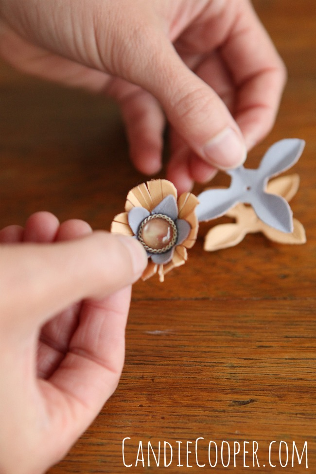 Making leather jewelry