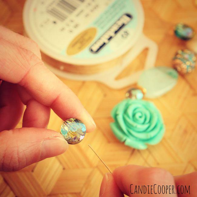 Simple bracelet stringing tutorial