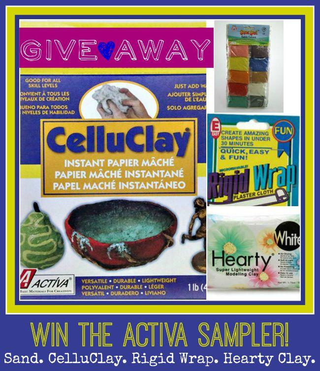 ACTIVA sampler giveaway