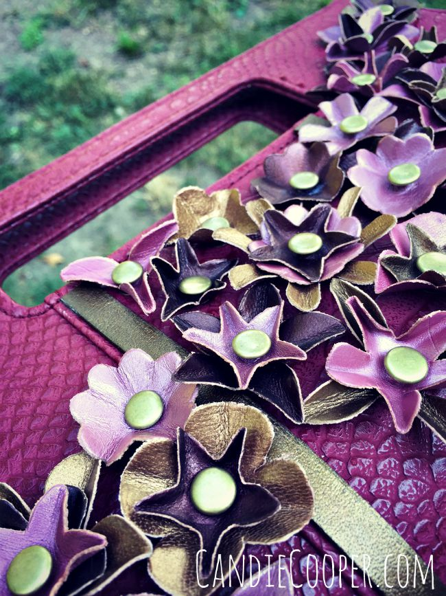 DIY Fashion Idea Purse Revamp from @CandieCooper