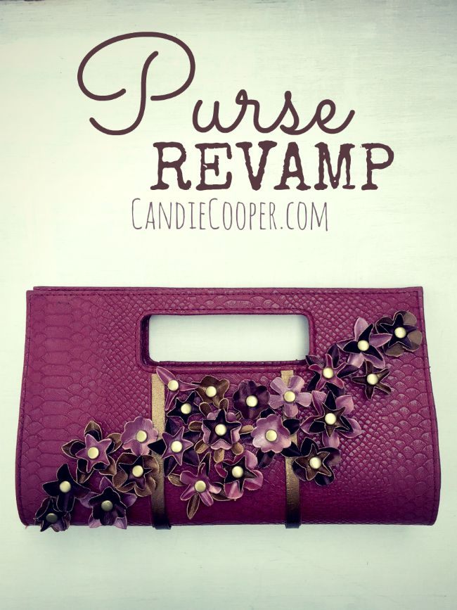 DIY Purse Revamp from @candiecooper and LeatherCord USA