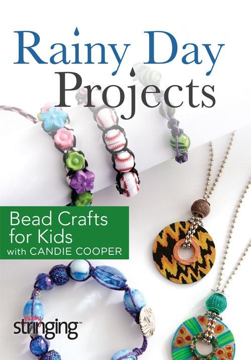kids jewelry craft idea