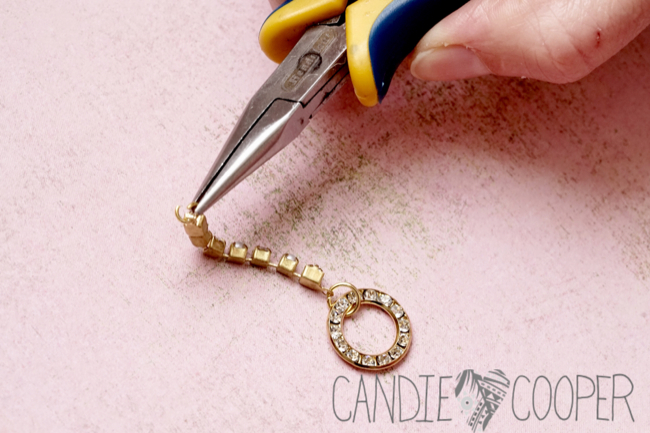 DIY Jewelry how to make these crystal earrings from Candie Cooper10