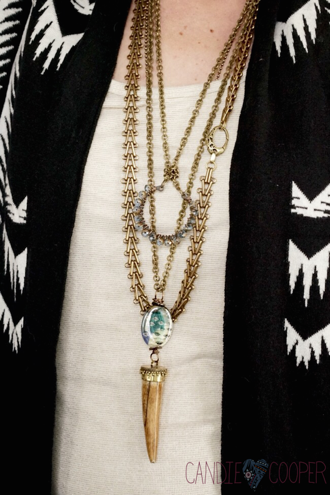 Wearing multiple necklaces in fashion