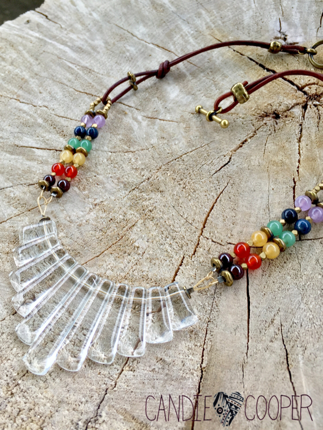 How to Make Chakra Jewelry with Dakota Stones on Candie Cooper's blog7