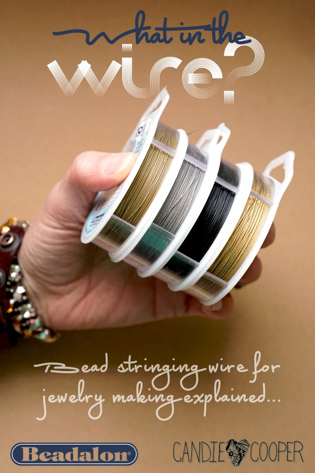 Bead Stringing Wire for Jewelry Making Explained
