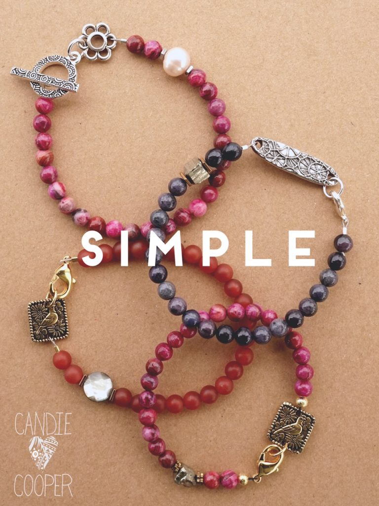 Crimp bead tutorial with Candie Cooper