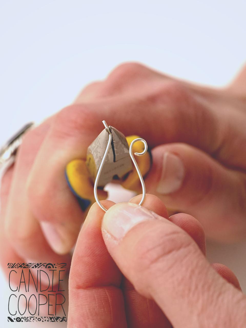 Bending ear wires