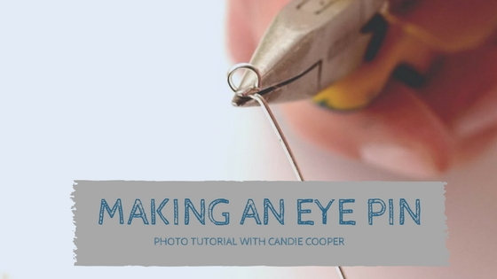 Making an Eye Pin for Jewelry