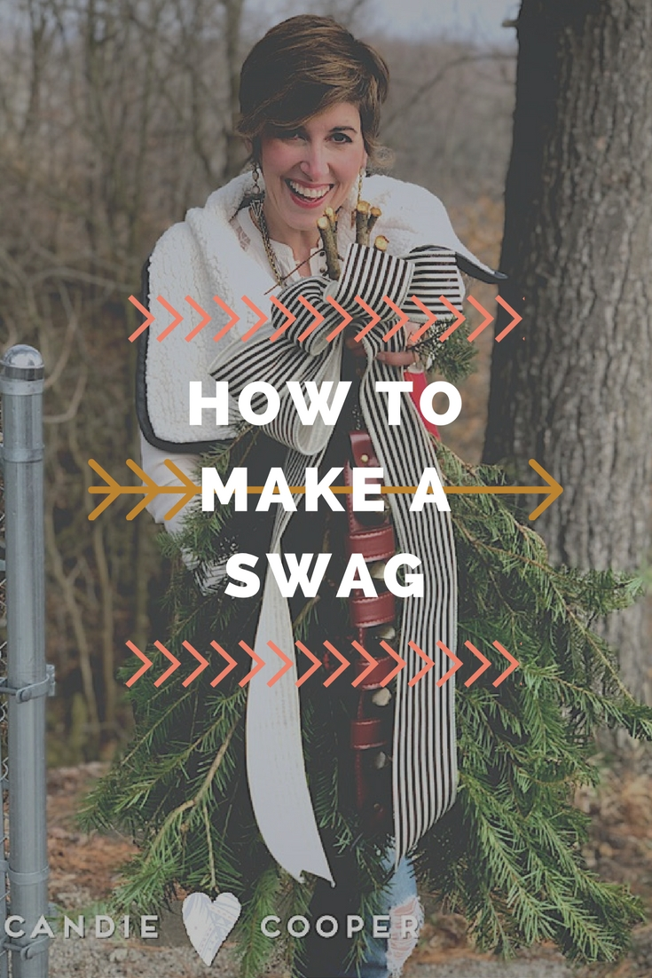 How to make a holiday SWAG