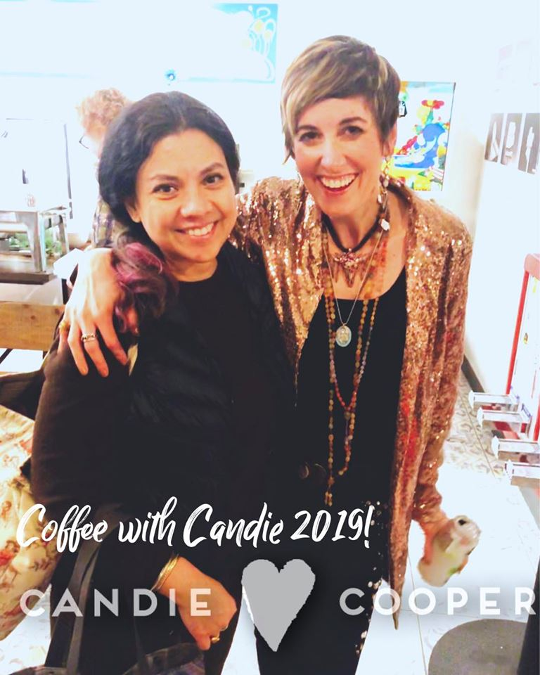 Candie Cooper and Cynthia of Green Girls Studios